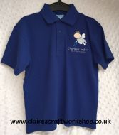 Charlee's Angels - Royal Blue Poloshirt - Unisex Fit