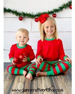 Christmas Pyjamas - Claire s Craft Workshop 17998304e