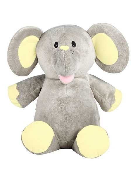 Grey Elephant (with yellow)