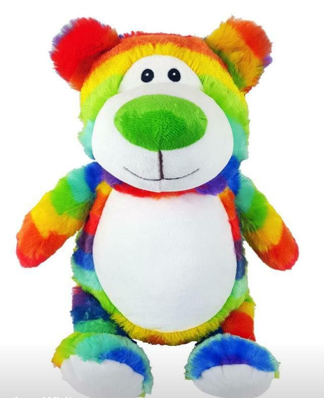 Rainbow Bear - Claire's Craft Workshop