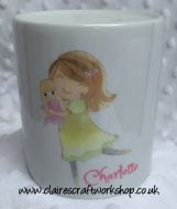 Money Box - Girl with Doll