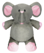 Grey Elephant (with pink)