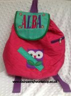 Quilted BackPack - Owl Design