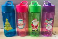 Personalised Kids Water Bottle with Straw - with or without Design