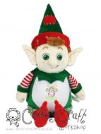 Harlequin Christmas Elf Cubbie - Christmas Design