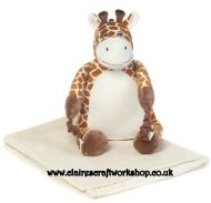 BoBo Buddies Blanket Backpack - Giraffe