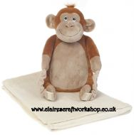 BoBo Buddies Blanket Backpack - Monkey