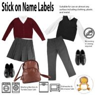 Magic Stick On Clothing Name Labels