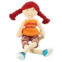 """""""Handmade 40cm Powell Craft Red Riding Hood rag doll‰Û? CE marked and suitable from birth.  The price includes ei…"""