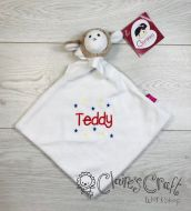 Personalised Lamb Comforter with name embroidered