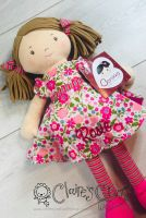 """""""Handmade 40cm Powell Craft Knight rag doll‰Û? CE marked and suitable from birth.  The price includes a name and …"""