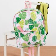 Personalised Large Tropical Palm Backpack for children, School Bag, Nursery, Kids, Rucksack, Rucsac, named, child, adult, student