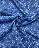 Texture Blender Spot in Marina Blue 100% Cotton Fabric - Fat Quarter, 1/2 Metre and by the Metre. The Craft Cotton Company