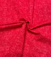 Texture Blender in Red 100% Cotton Fabric - Fat Quarter, 1/2 Metre and by the Metre. The Craft Cotton Company