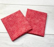 Texture Blender Spot in Coral 100% Cotton Fabric - Fat Quarter, 1/2 Metre and by the Metre. The Craft Cotton Company