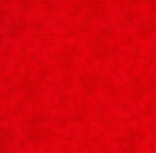 Red Textured Blender 100% Cotton Fabric - Fat Quarter, 1/2 Metre and by the Metre. John Louden